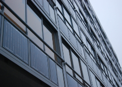 Our flexible solar panels installed on buildings