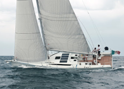 Solbian flexible solar panels installed on the decks of sailing boats