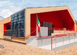 Solbian flexible solar panels for solar houses competing at the Solar Decathlon