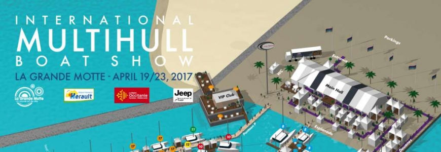 Asseaboat to exhibit at the International Multihull Boat Show - April 19-23