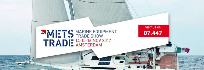 METS 2017 is just a month away: come visit us to discover our new products!