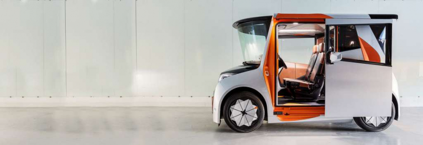 REDS EV: the revolutionary city car with Italian solar panels