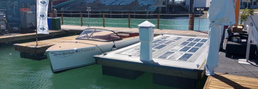 PowerDocks Wins Big at the 2018 Progressive Miami International Boat Show
