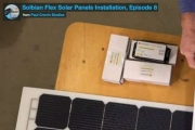 Installation of Solbian SP panels on a boat (part 1)