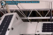 Installation of Solbian SP panels on a boat (part 2)