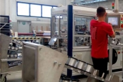 A new production line for the manufacturing of high efficiency Day4 solar cells
