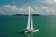 Cruising life: Jason and Claudia share with us their experience on Trimaran Spirit
