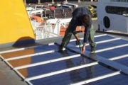 Aquarius MAS with Marine Solar Power Installed on Blue Star Delos