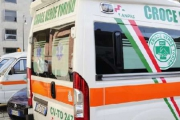The first green Italian ambulance