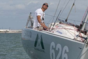 Second place for Giancarlo Pedote at the Mini Transat 2013